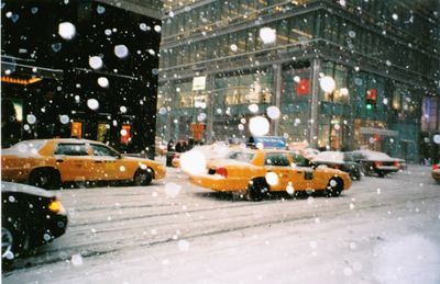 Snowing in NY