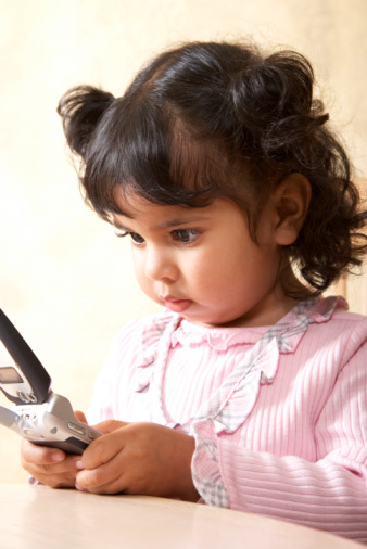 Toddlers texting