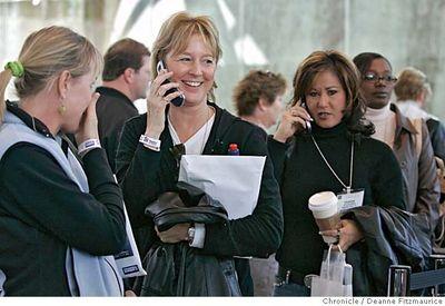 Talking on line