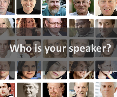 Who is your speaker