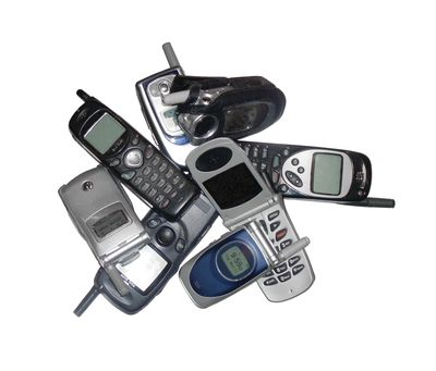 Old cell-phones