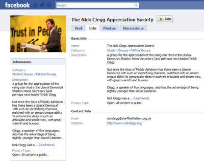Nick Clegg FB