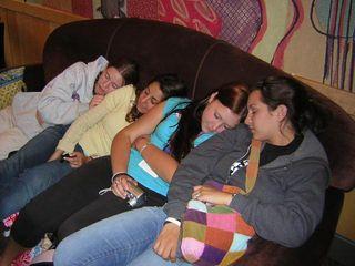 Sleeping at starbucks
