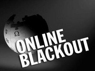 Web blackout
