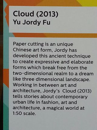 Jordys Piece at TED 2013 Description