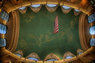 Grand Central Station - Ceiling in the Main Hall