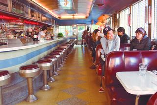 Diner Interior, Williamsburg